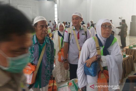 7.678 haji Sumut kembali ke tanah air