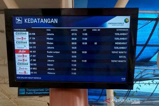 Sejumlah penerbangan di Bandara Pekanbaru tertunda, akibat kabut asap