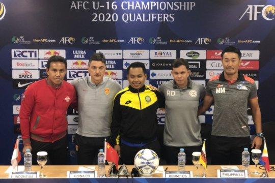 Timnas akan waspadai China di kualifikasi Piala AFC U-16 2020