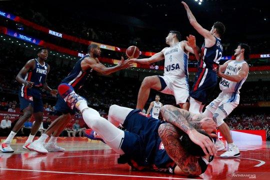 Piala Dunia FIBA : Argentina tundukkan Prancis di semi final