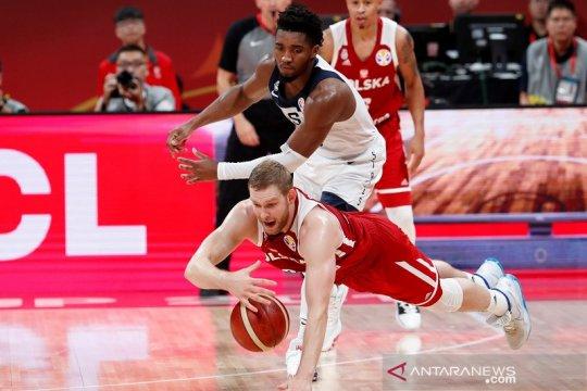 Amerika hanya berakhir sebagai peringkat ketujuh Piala Dunia FIBA 2019