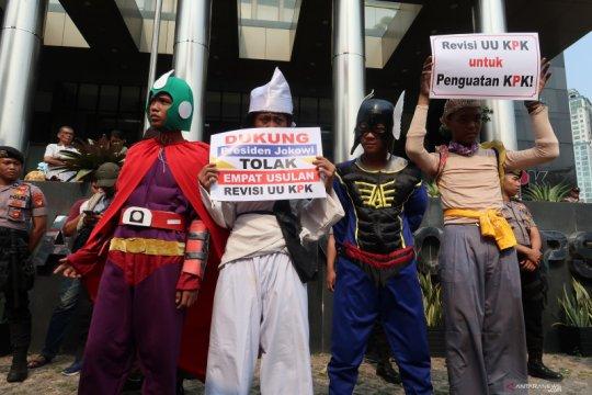 Aliansi Rakyat Lawan Korupsi: RUU KPK bentuk penguatan lembaga