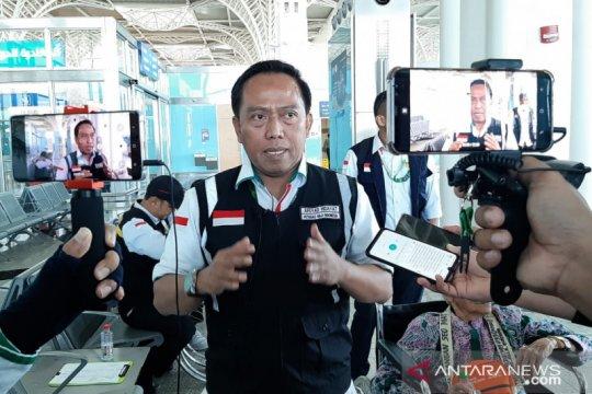 Empat kloter jamaah Indonesia terakhir segera tinggalkan Tanah Suci