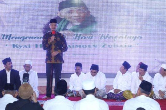 Ganjar-Yasin gelar doa bersama peringati 40 hari wafatnya Mbah Maimoen