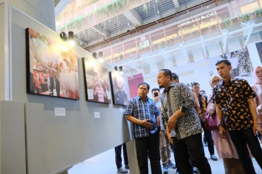 60 foto Mentan RI dipamerkan di Makassar