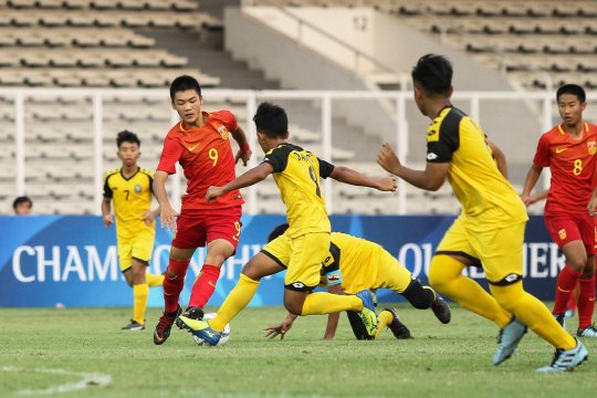 China libas Brunei 7-0 di laga perdana kualifikasi Piala AFC U-16