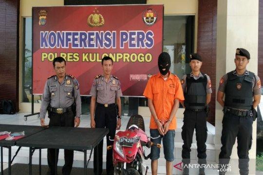 Resahkan warga, polisi Kulon Progo tangkap residivis pencurian uang