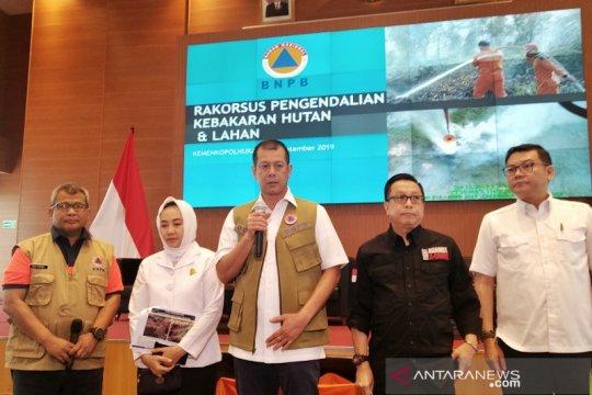 BNPB: Karhutla terbesar di Riau lebih dari 40 ribu ha