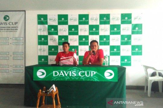 Indonesia berpeluang ubah susunan pasangan ganda di Piala Davis
