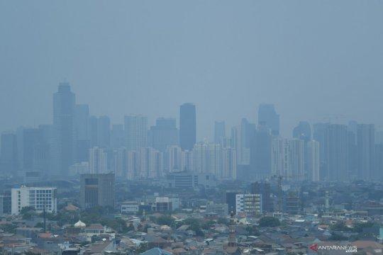Minggu pagi, udara tak sehat Jakarta peringkat delapan terpolusi