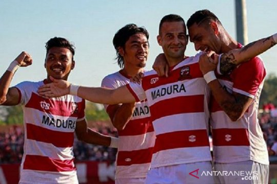 Kontra Borneo, pelatih Madura ingatkan pemainnya hindari blunder