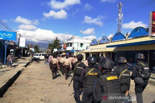 Polres Jayawijaya gelar patroli di Wamena
