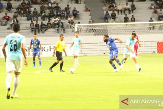 10 pemain Persiba terpeleset di Tuban, kalah 0-1 dari Persatu