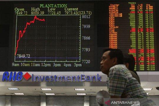 "Saham Malaysia ""rebound"" dengan indeks KLCI terangkat 0,38 persen"
