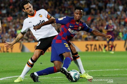Ansu Fati bisa bela timnas Spanyol