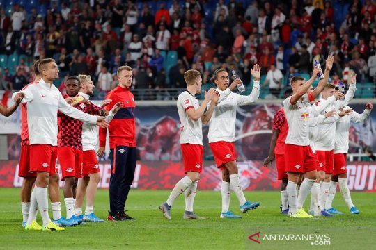 Klasemen Liga Jerman, Leipzig masih di puncak walau tak lagi sempurna