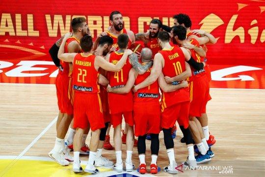 Spanyol juara Piala Dunia FIBA