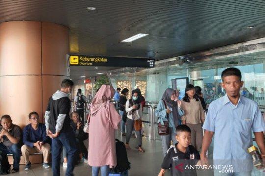 Kabut asap, 15 penerbangan Bandara Supadio Pontianak terganggu