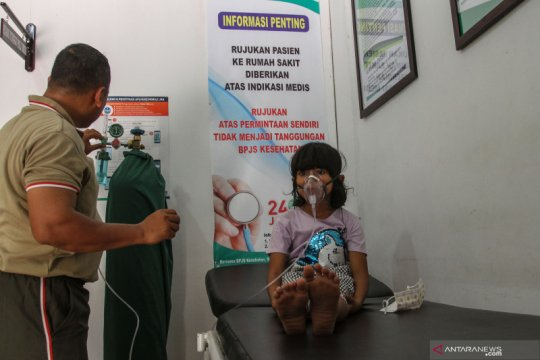14 posko kesehatan siaga antisipasi dampak kabut asap di Pekanbaru