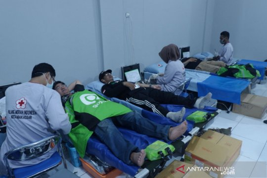 "Gojek-PMI luncurkan ""Go Blood Volunteer"""