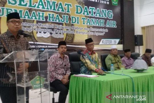 Jamaah Haji Kloter Terakhir Asal Sulbar Tiba Di Makassar