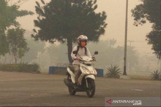 Kiriman asap, Nunukan dihantui penyakit pernapasan