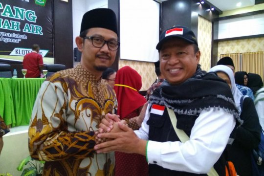 453 haji asal tiga kabupaten, kloter terakhir Debarkasi Makassar