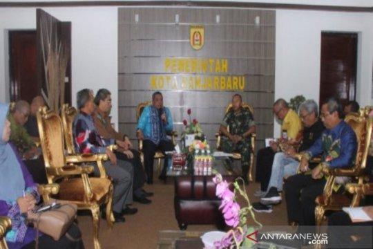 Pemkot Banjarbaru bantu Satgas Karhutla TNI mesin pompa air