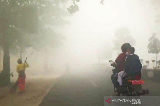 3.034 siswa di Palangka Raya terpapar kabut asap