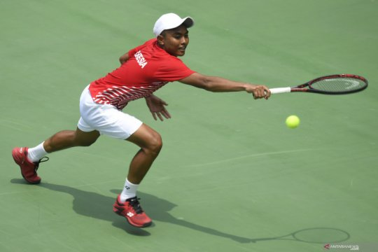 Indonesia tanpa Ari Fahresi saat lawan Barbados di Davis Cup 2021