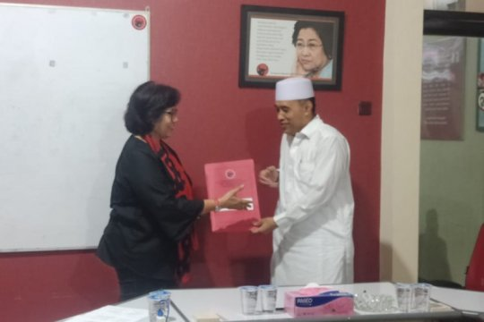 Mantan Ketua PKB Surabaya daftar Bacawawali Surabaya lewat PDIP