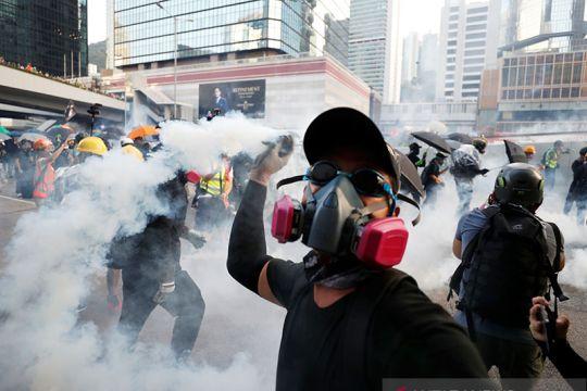 Demonstrasi anti-pemerintah di Hong Kong