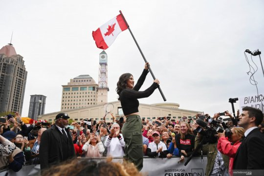 Bianca Andreescu atlet terbaik Kanada 2019