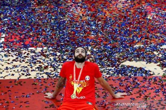 Ricky Rubio jadi MVP Piala Dunia FIBA sekaligus pimpin All-Star