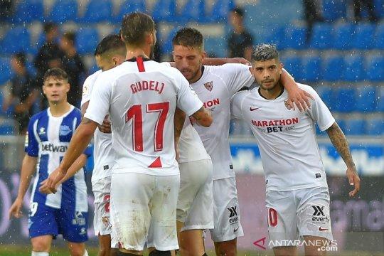 Hasil Liga Spanyol, Sevilla ambil alih puncak klasemen