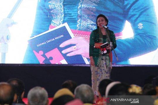 Bintang Puspayoga luncurkan buku Sinergi Untuk Negeri
