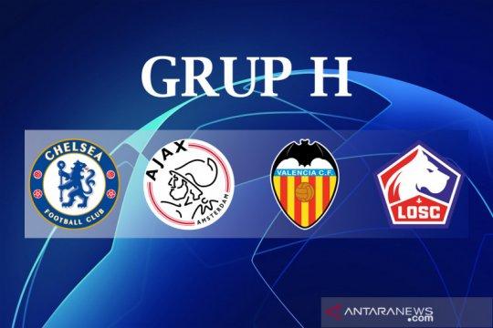 Grup H, ajang inisiasi bintang baru Ajax, Chelsea, Lille dan Valencia