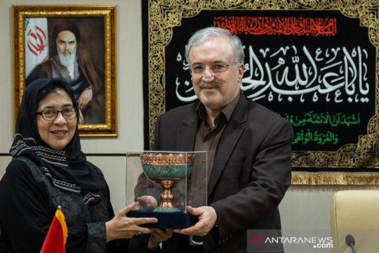 Menkes RI bertemu Menkes Iran tindaklanjuti kerja sama kesehatan