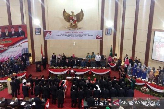 Pesan Gubernur kepada anggota DPRD Medan: Bela kepentingan rakyat