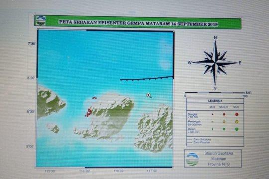 7 kali gempa dirasakan di Mataram