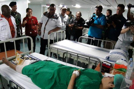Dinkes dan TNI/Polri gelar pelayanan gratis pascademo rusuh