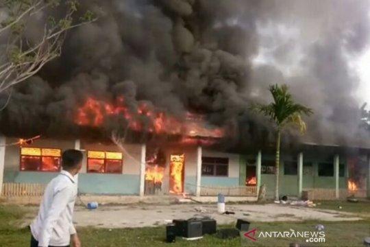 Di Mamuju, Madrasah Aliyah Guppi hangus terbakar