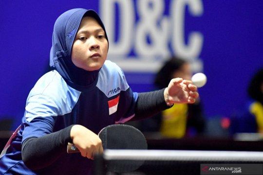 Tim tenis meja putri Indonesia kalahkan Bangladesh