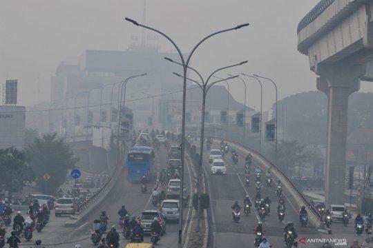 Asap kiriman, kualitas udara di Palembang kembali memburuk