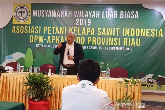 Asosiasi petani sawit Riau sepakat musuhi pembakar lahan