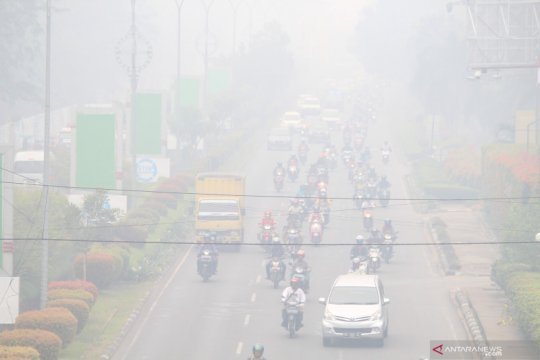 Kabut asap kian pekat, tingkat hunian hotel Kalimantan Barat anjlok