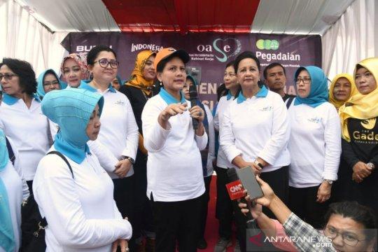 Iriana Jokowi canangkan Aksi Gerakan Indonesia Bersih di Bogor