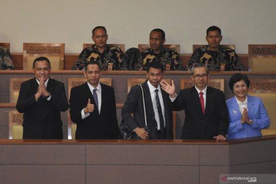 Pengesahan pimpinan KPK terpilih
