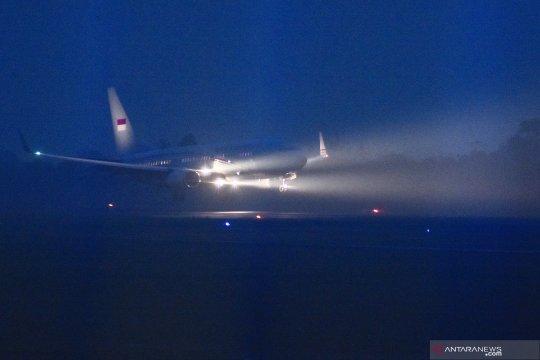 Sejumlah penerbangan dari bandara Juanda dibatalkan akibat asap
