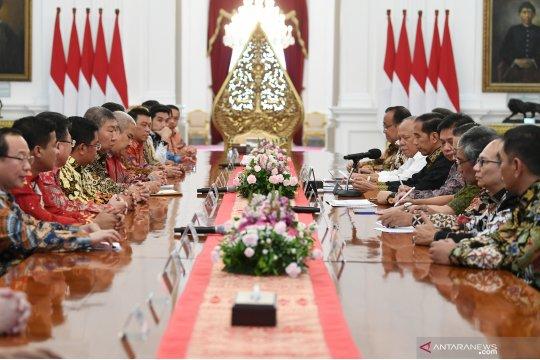 Presiden terima pengurus REI dan APERSI